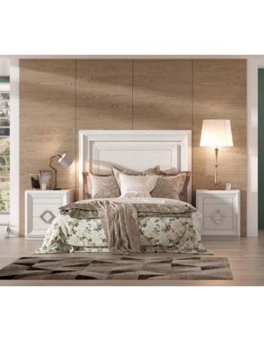 Conjunto dormitorio madera...