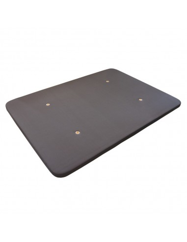 Base tapizada color gris...