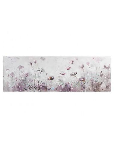 Cuadro flores panorámico de...