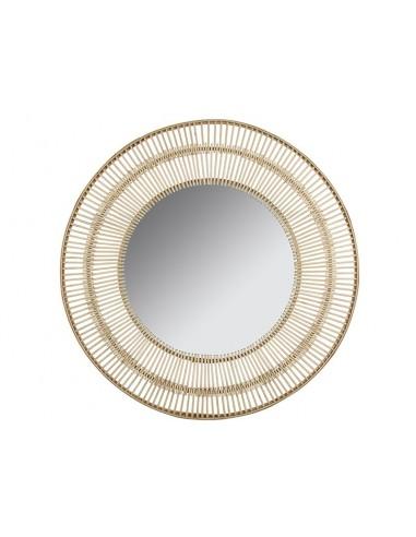 Espejo bambú de caña de...