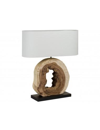 Lámpara mesa tronco de...