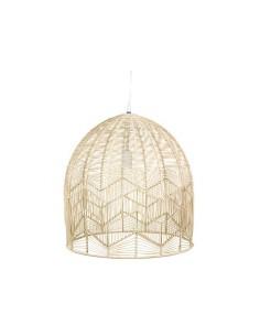 Lámpara de techo de ratán...