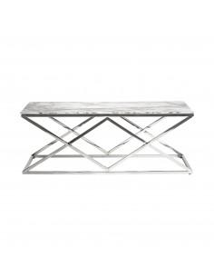 Mesa de diseño moderno con patas de acero Everest
