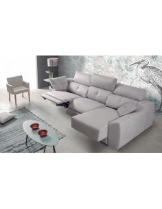 Sofá Chaise Longue con mecanismo relax eléctrico