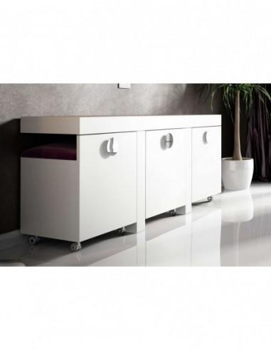 Mueble tocador moderno Bella T28 Franco Furniture