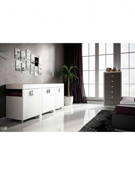 Mueble tocador moderno Bella T28