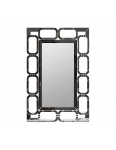 Espejo Eslabones de diseño moderno con detalles Diaomond