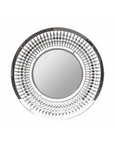 Espejo redondo de diseño moderno diamond