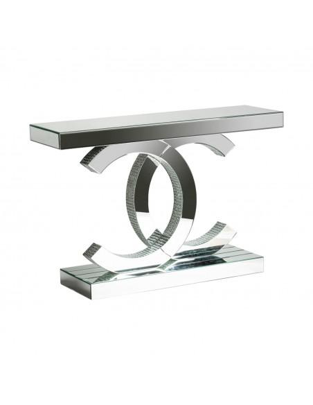 Conjunto de consola y espejo CHANEL de diseño moderno