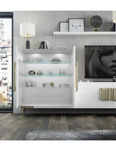 Salón PROMO P04 blanco de Franco Furniture