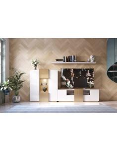Salón PROMO P08 blanco de Franco Furniture de estilo moderno