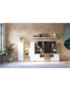 Salón PROMO PR23 blanco de Franco Furniture de estilo moderno