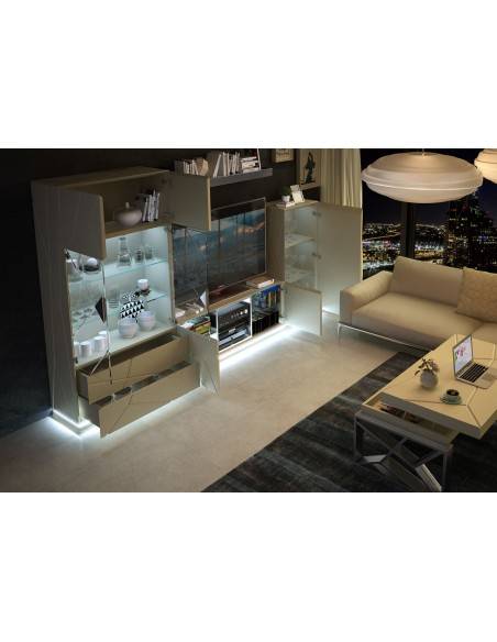 Franco Furniture Avanty EX05 salón de diseño moderno | Oso Perezoso