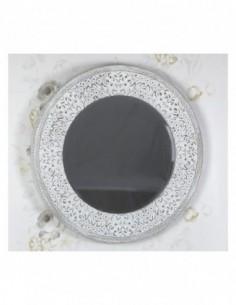 Espejo de pared ATLANTA 90 blanco