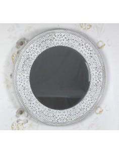 Espejo de pared ATLANTA 75 blanco