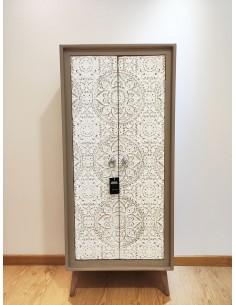 Armario ATLANTA de 2 puertas y estilo vintage nórdico