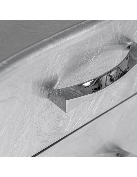 Mesilla moderna KRISTEL Silver