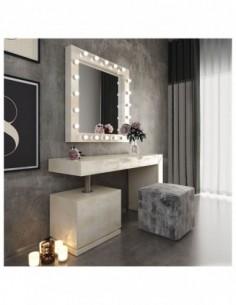Tocador de maquillaje NB03 de estilo retro-moderno Franco Furniture