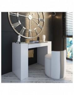 Tocador de maquillaje NB09 de estilo moderno-contemporáneo Franco Furniture