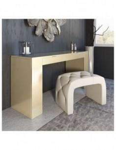 Tocador de maquillaje NB11 de estilo moderno-contemporáneo Franco Furniture