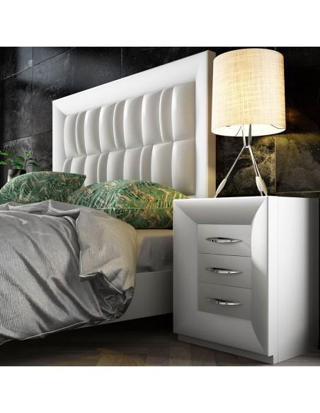 Dormitorio moderno blanco PROMO D12 de Franco Furniture