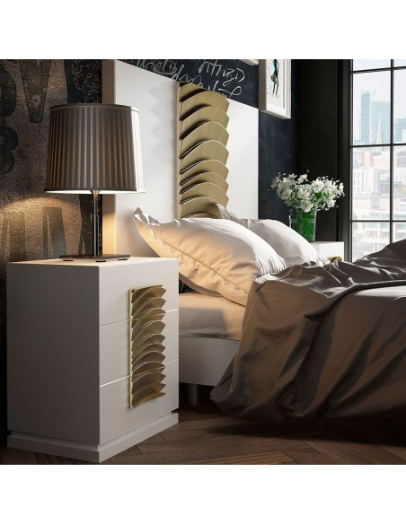 Dormitorio completo moderno PR55 PROMO de Franco Furniture