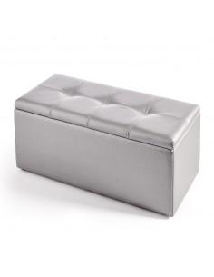Baúl banqueta personalizable con arcón de almacenamiento
