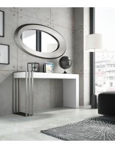 Conjunto de consola y espejo PR35 con espejo Franco Furniture