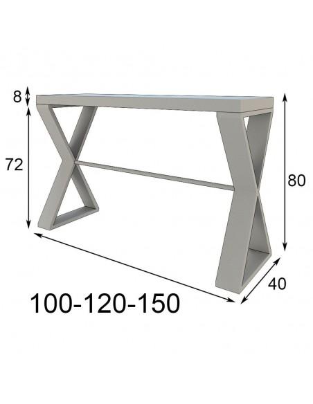 medidas consola de entrada PR36 Franco Furniture