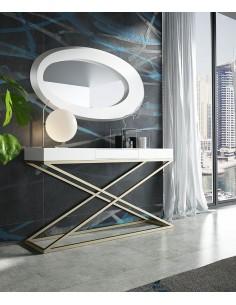 Consola de entrada PR37 con espejo en promoción Franco Furniture