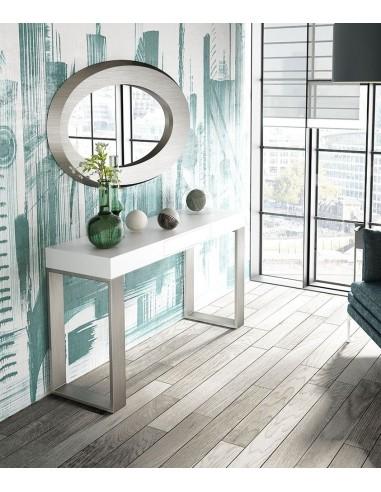 Consola de entrada PR38 con espejo en promoción Franco Furniture