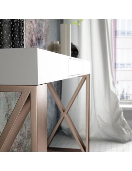 Consola de entrada PR39 con espejo en promoción Franco Furniture
