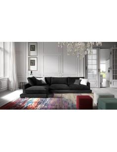 Sofá al suelo de diseño minimalista