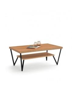 Mesa de centro ME038 de estilo nórdico-industrial de Divogue