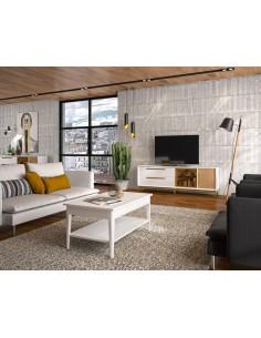 Mueble TV Estoril EC117 de estilo nórdico-industrial de Divogue