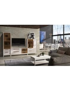 Mueble de salón 20C de estilo nórdico-industrial de Divogue