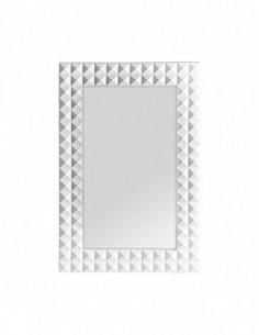 Espejo Motas Blanco