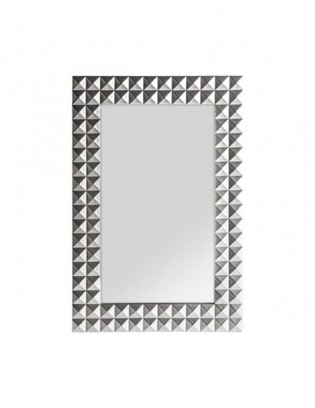 Espejo Motas Plata