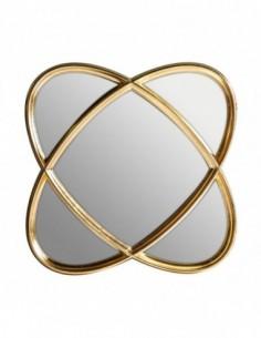 Espejo Orbitas Medio Oro
