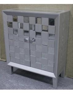 Mueble Cómoda moderna color Plata