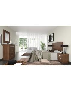 Dormitorio madera Enara Utrilla