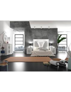 Dormitorio completo moderno Katuma modelo Sol