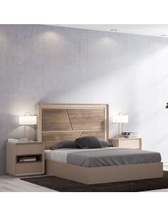 Dormitorio matrimonio Curve XT 05