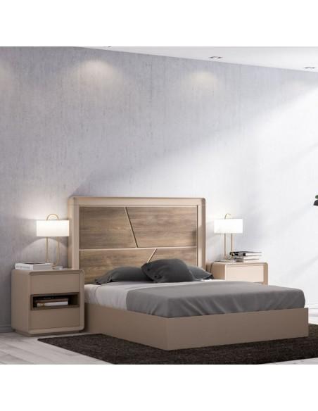 Dormitorio matrimonio Global Paint Curve XT 05 - Muebles Oso Perezoso Pontevedra