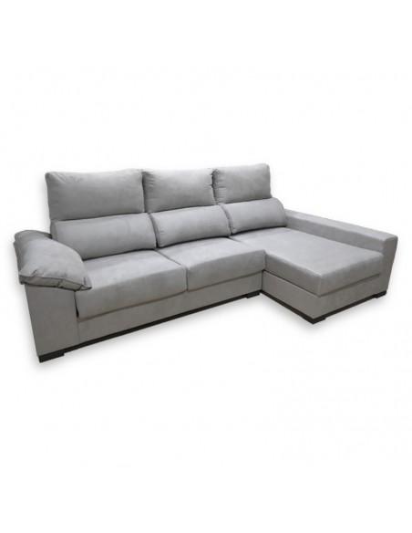 Sofá Chaise Longue con brazo siesta y asientos deslizantes