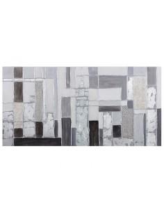 Cuadro óleo abstracto -...