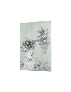 Cuadro jarrón flores -...