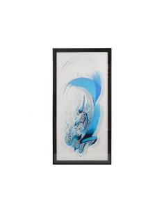Cuadro letra azul - Ref.16366