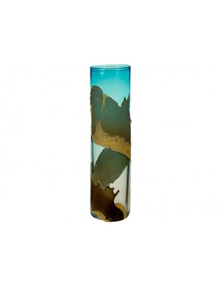Jarrón cristal decorado - Ref.46356