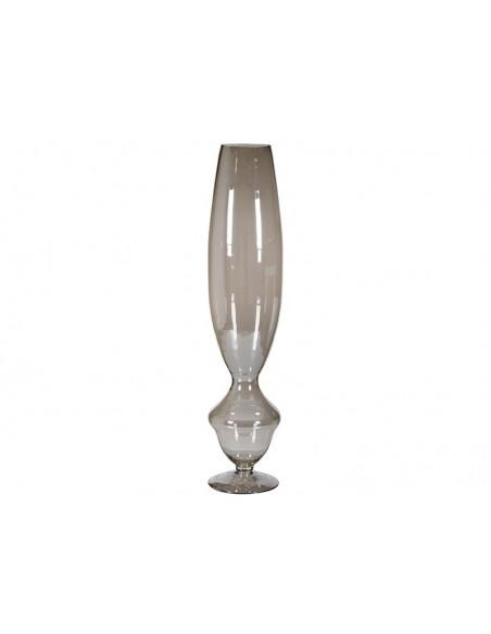 Jarrón plata cristal - Ref.46380